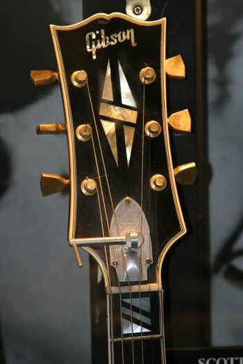 "Scotty's 63 headstock with Damper from ""The Vault"""