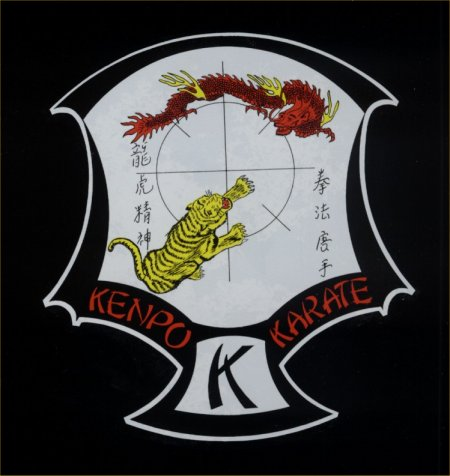 Kenpo Karate Logo Kenpo Decal on Guitar