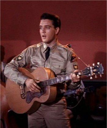 Elvis' 1956 Gibson J200