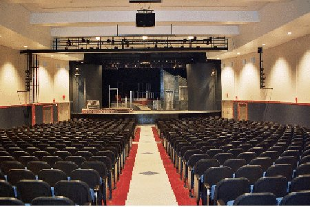 Jesuit High School Auditorium - 2003. Photo courtesy Gootee Construction