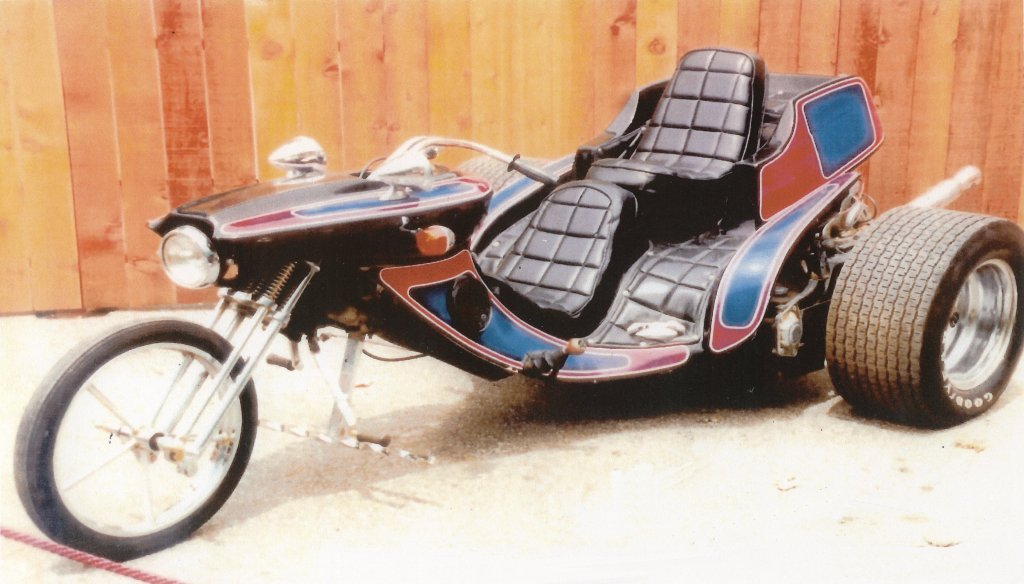 Scotty Moore - Elvis Presley\'s 1975 Super Cycle Stinger VW Trike