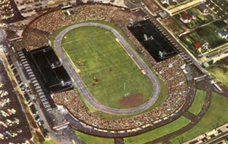 The old Empire Stadium in Vancouver.